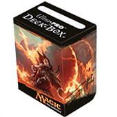 Фотография Ultra Pro Magic Deck Box - Fate Reforged - Sarkhan [=city]