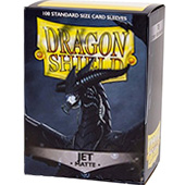 Фотография Протекторы Dragon Shield матовые Jet (100 шт.) [=city]